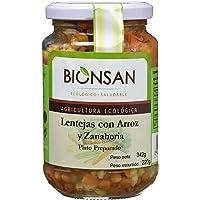 Bionsan Lentejas Cocidas con Arroz Integral y Zanahoria