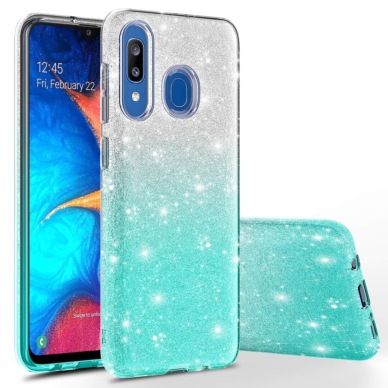 Funda Para Samsung Galaxy A20 / A30 Glitter Rosebono Fashion [7t9cf46n]
