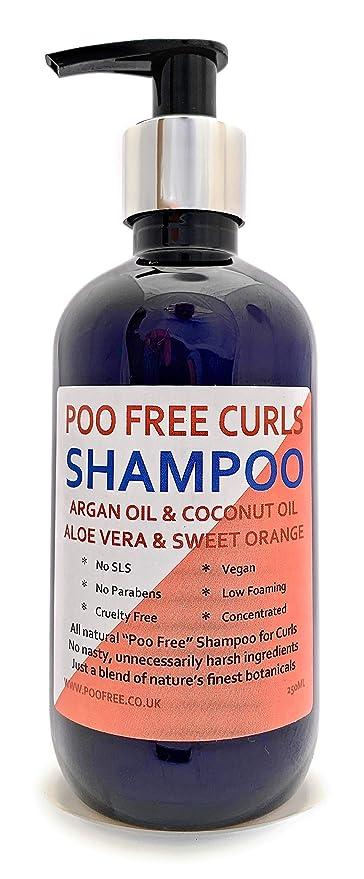100 Naturale Shampoo Formula Per Capelli Ricci Olio Di