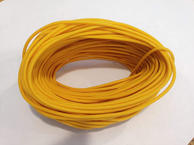 White Vintage Cloth Covered Hookup Wire 22 Gauge For Guitars and Amps 2 or 10ft