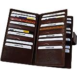 プラスエイチ(Plus H) 財布 カードケース 大容量 カード30枚 植物タンニンなめし 革絞り加工 PH7981