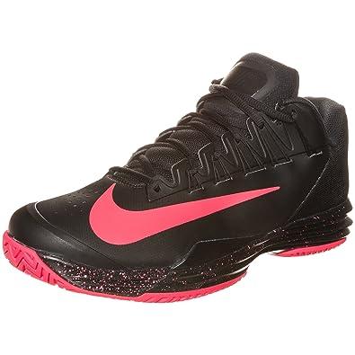 pretty nice 04e0c b3d21 Nike Lunar Ballistec Chaussure de Tennis pour Homme - Noir - BlackHyper  Punch, Amazon.fr Chaussures et Sacs