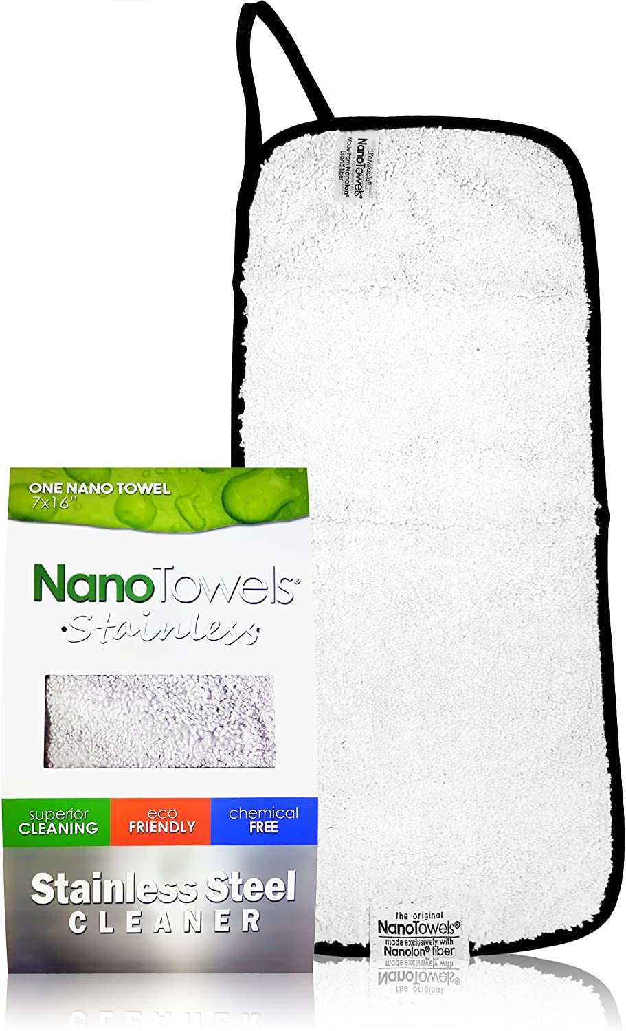 Nano Towels Cleaner for Stainless Steel Surfaces