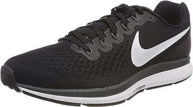 Electrónico Grave Desarmado  Nike Wmns Air Zoom Pegasus 34, Zapatillas de Entrenamiento para Mujer,  Negro (Black/White-Dark Grey-Anthraci 001), 43 EU: Amazon.es: Zapatos y  complementos