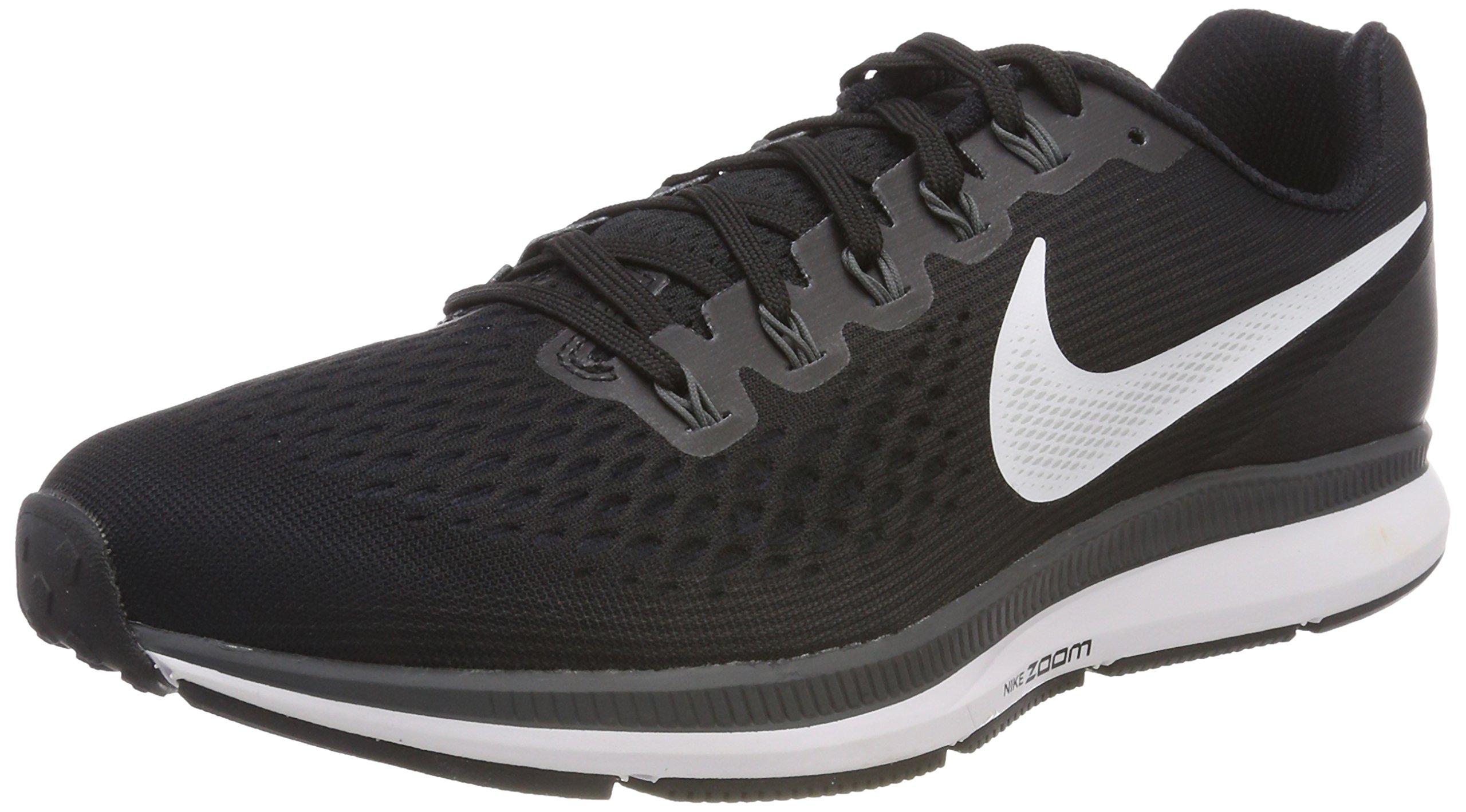 Nike Women's Air Zoom Pegasus 34 Running Shoe (Black/White/Dark Grey/Anthracite, 5 B(M) US)