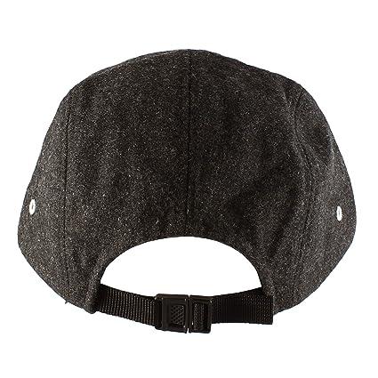 405e5284d86 Amazon.com  Morehats Wool Flip Up Short Brim Snapback Hip-hop Flat Bill  Baseball Cap - Charcoal  Clothing