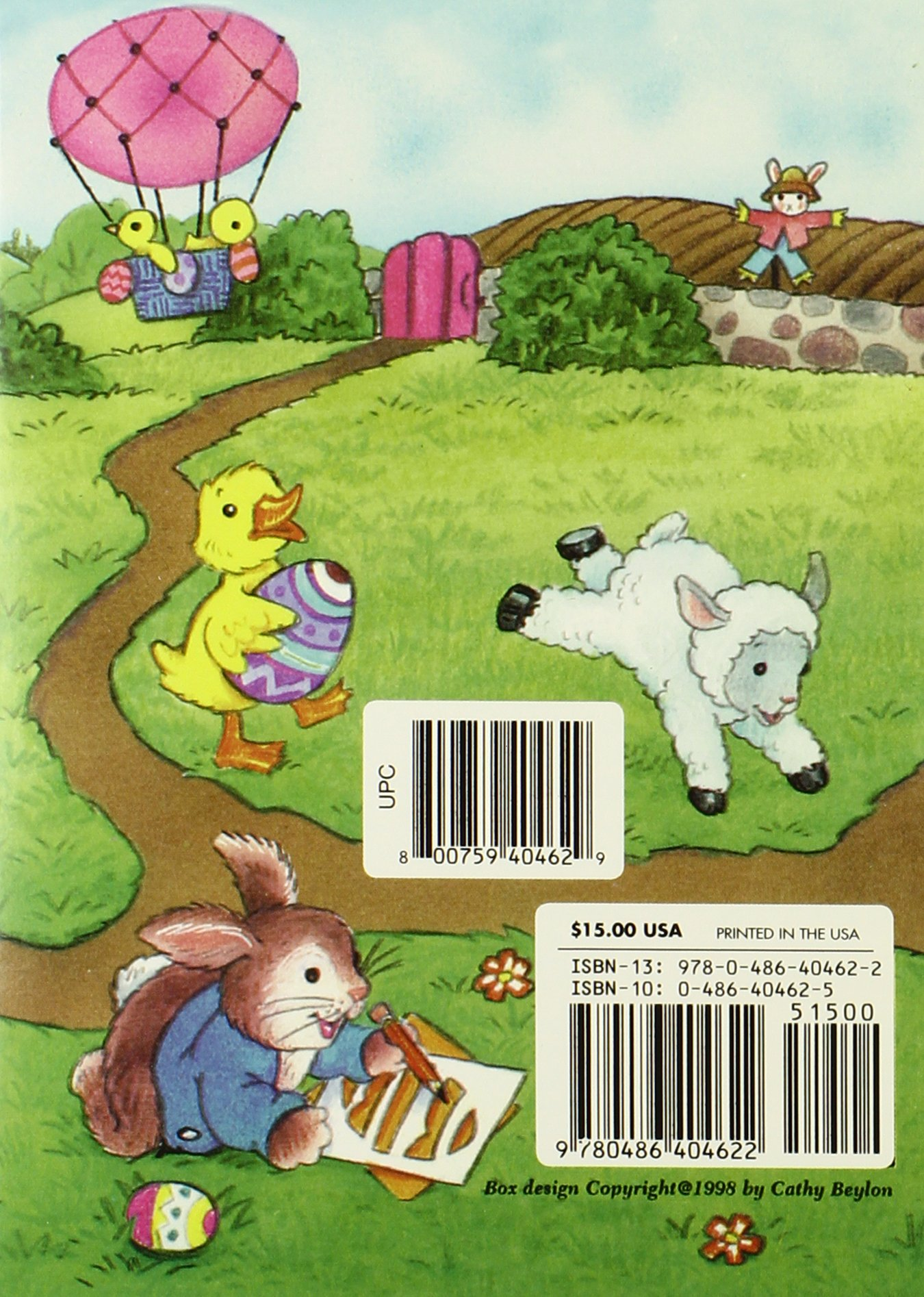 10 Easter Fun Books: Stickers, Stencils, Tattoos and More (Dover Little Activity Books) by Dover Publications (Image #2)