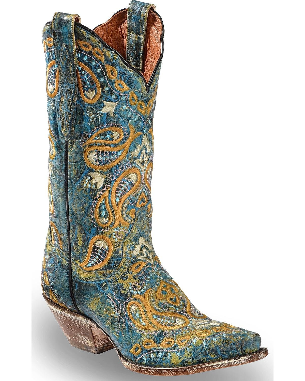 Dan Post Womens Boot Barn B078G2WZ9T 7 B(M) US|Turquoise