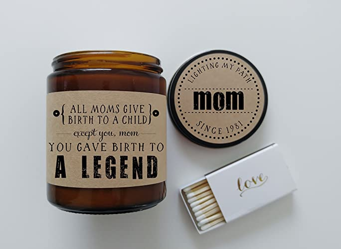 Amazon Funny Mothers Day Gift For Mom Birth To A Legend