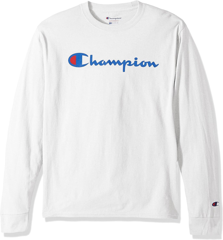 Champion LIFE Men's Cotton Long Sleeve Tee