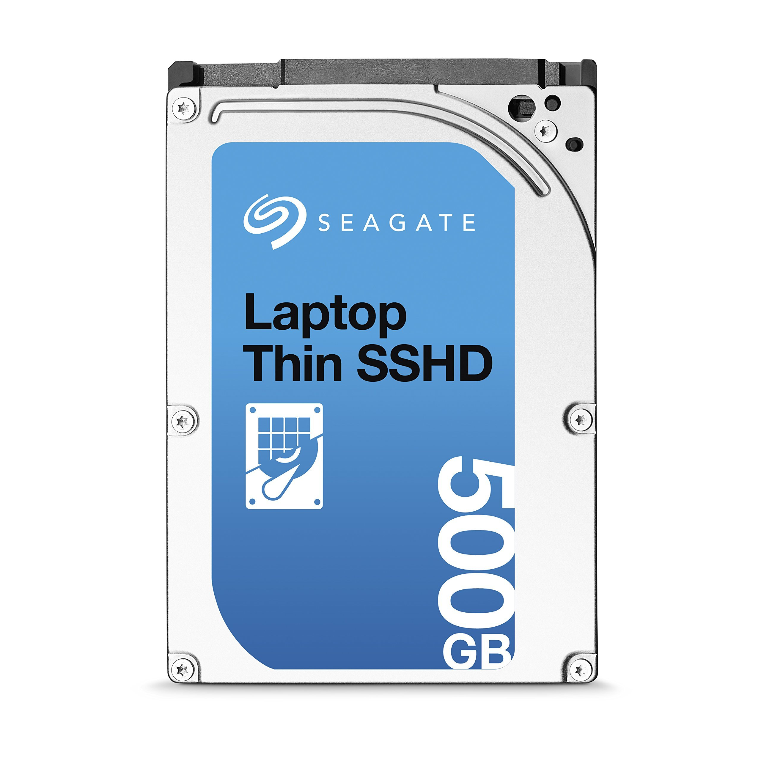 (Old Model) Seagate 500GB Gaming SSHD SATA 8GB NAND SATA 6Gb/s 2.5-Inch Internal Bare Drive (ST500LM000) by Seagate