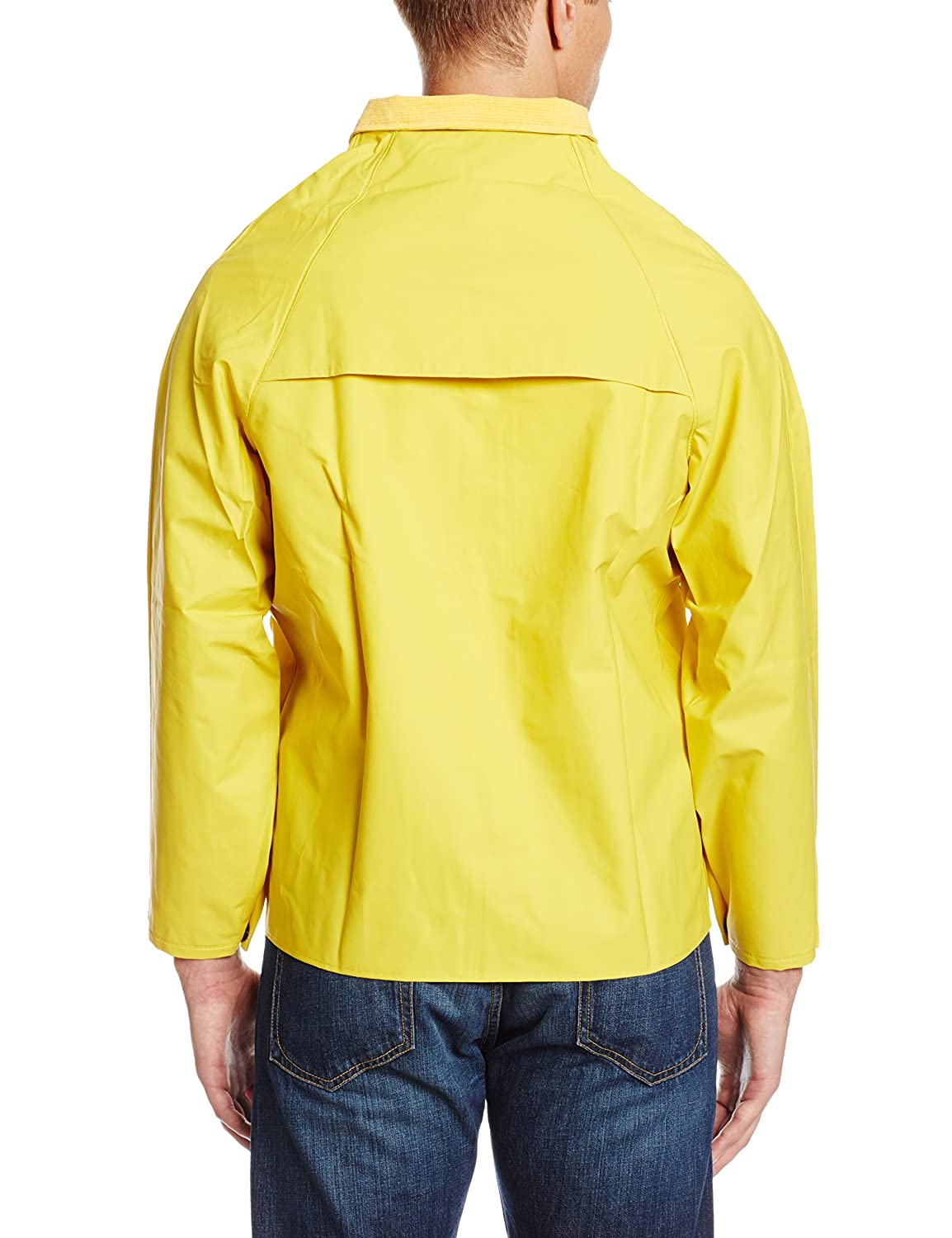 ONGUARD 76535 PVC on Polyester Sitex Jacket with Detachable Hood Size Small ONGUARD Industries