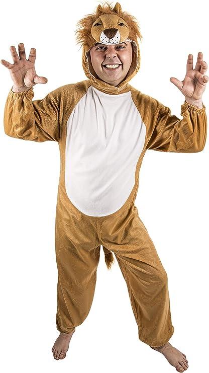 Costumizate! Disfraz de león para Adultos Especial para Fiestas de ...