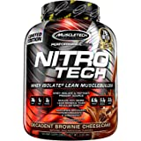Muscletech Performance Series Nitrotech Dietary Supplement - 1084 g (Decadent Brownie Cheesecake)