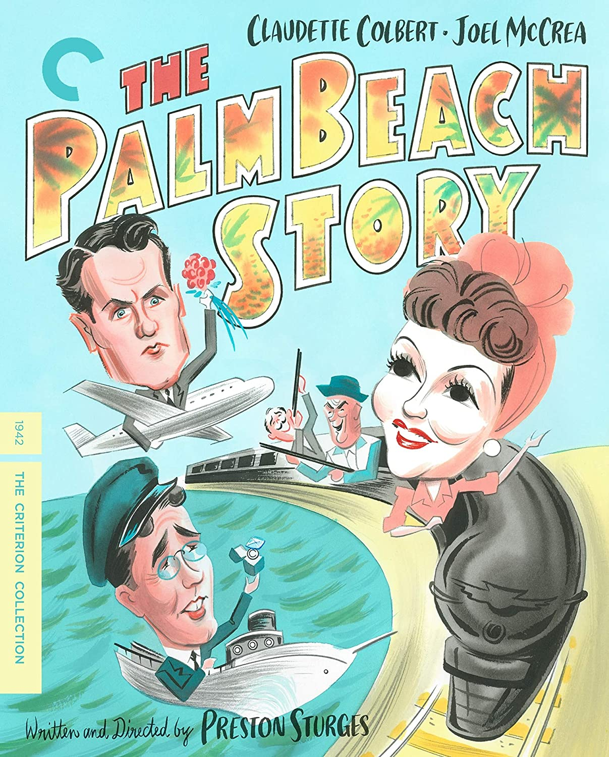 The Palm Beach Story - Cover