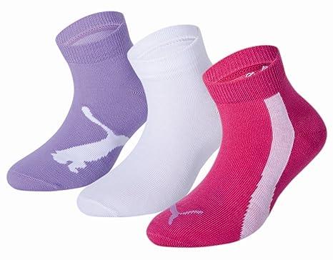 f363ad399474f Puma Lifestyle - Chaussettes de Sport - Lot de 3 - Graphique - Mixte  Enfant: Amazon.fr: Sports et Loisirs