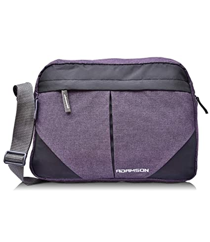 Adamson Unisex Polyester Cross Purple Side Bag
