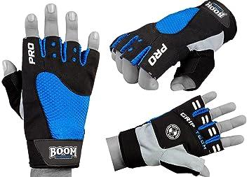 BOOM Pro guantes de ciclismo silla de ruedas gimnasio deportes dedo medio guantes de ciclo del