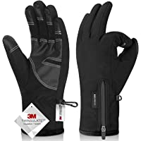 $20 » -30℉ Waterproof Winter Gloves 3M Thinsulate Breathable Touch Screen Men Women