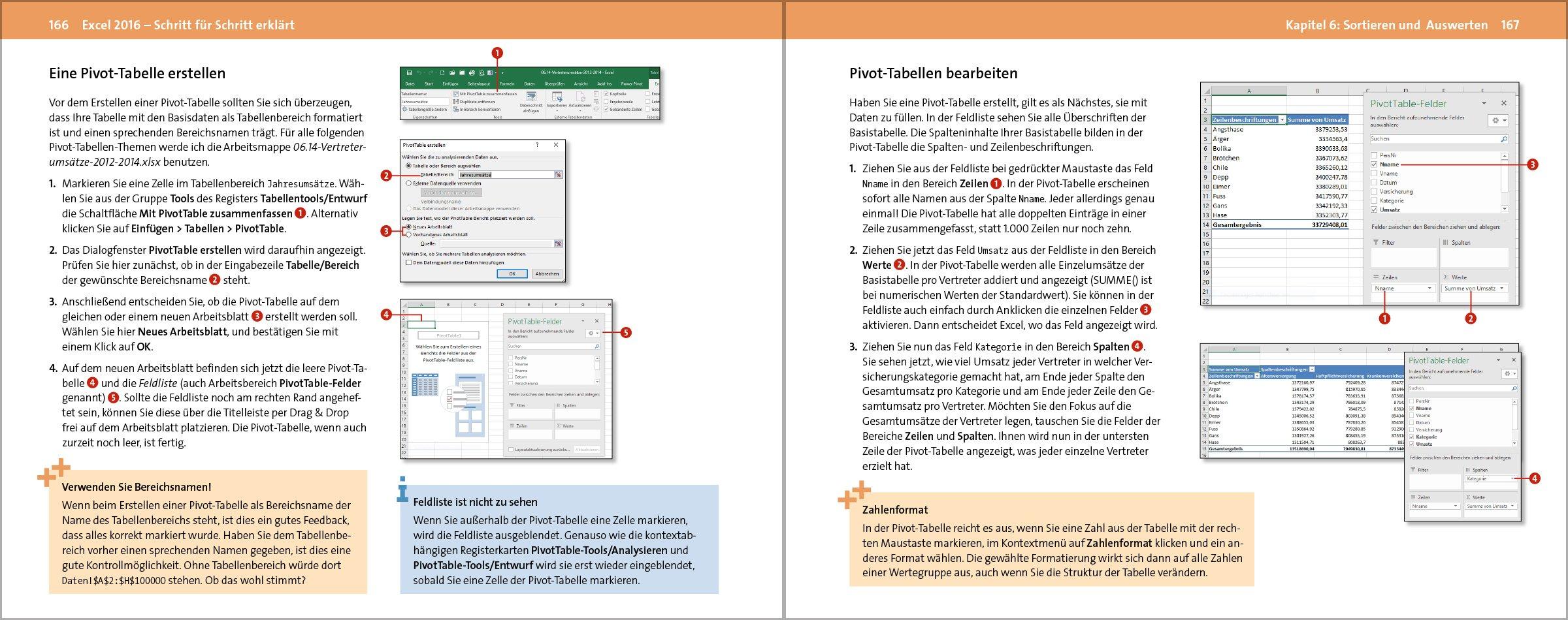 Excel 2016: Schritt für Schritt erklärt. Alles auf einen Blick – so ...