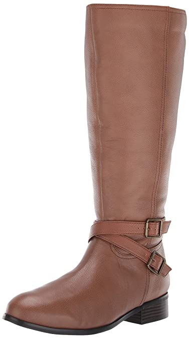 de914fcce05c Trotters Women s Liberty Wide Calf Fashion Boot Cognac 5.0 M US