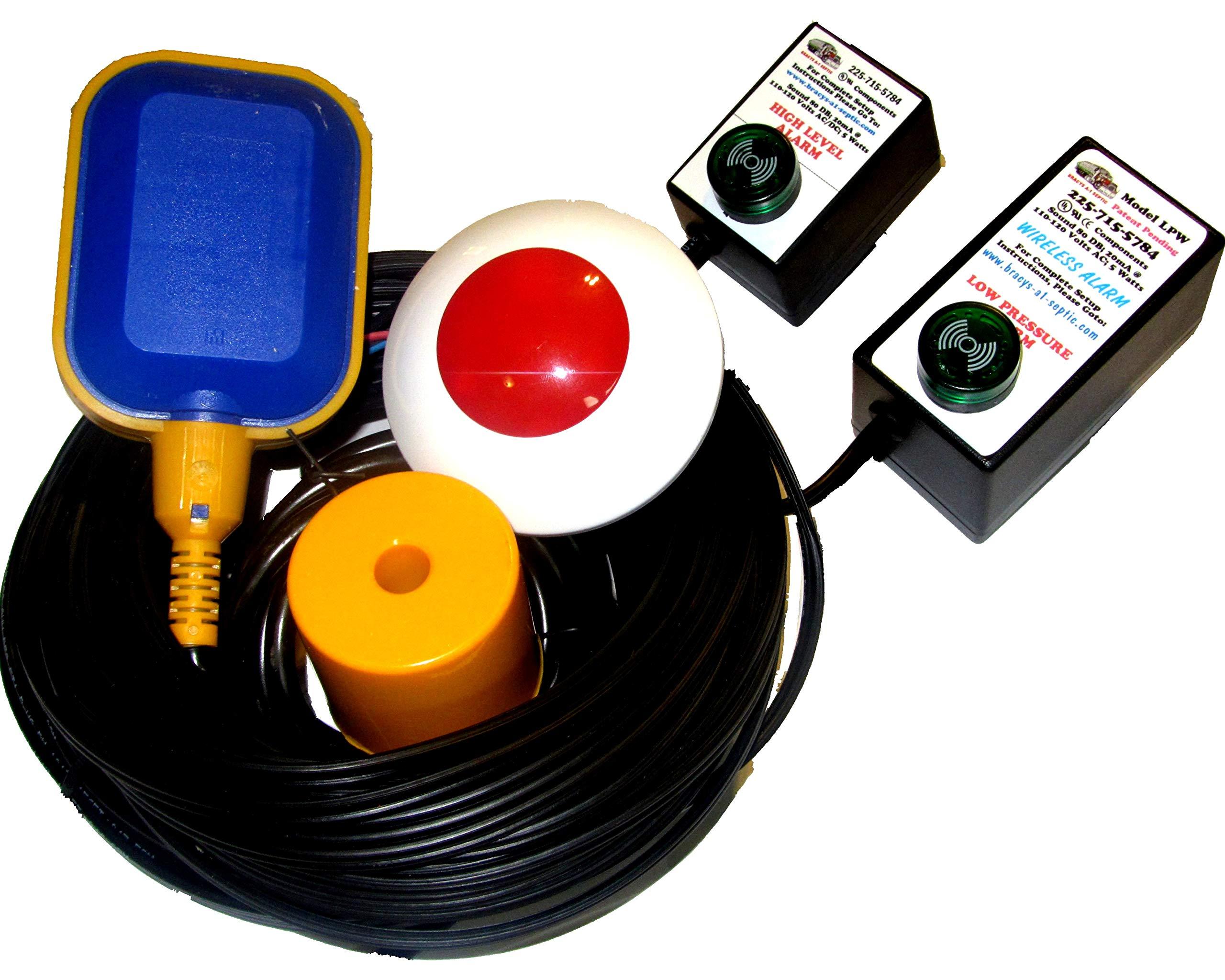 (New Listing) Hi Water Level/Sump Pump Failure Alarm (Standard & Wireless) by Bracys A-1 Septic (Image #2)