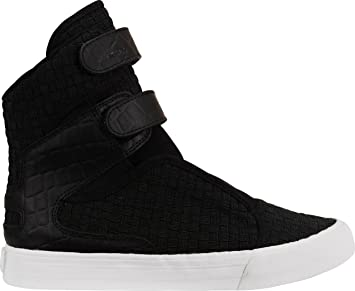 43ee73639896 Supra Society II Womens Hi Top Trainers (SAMPLE) - Black-4.5  Amazon ...