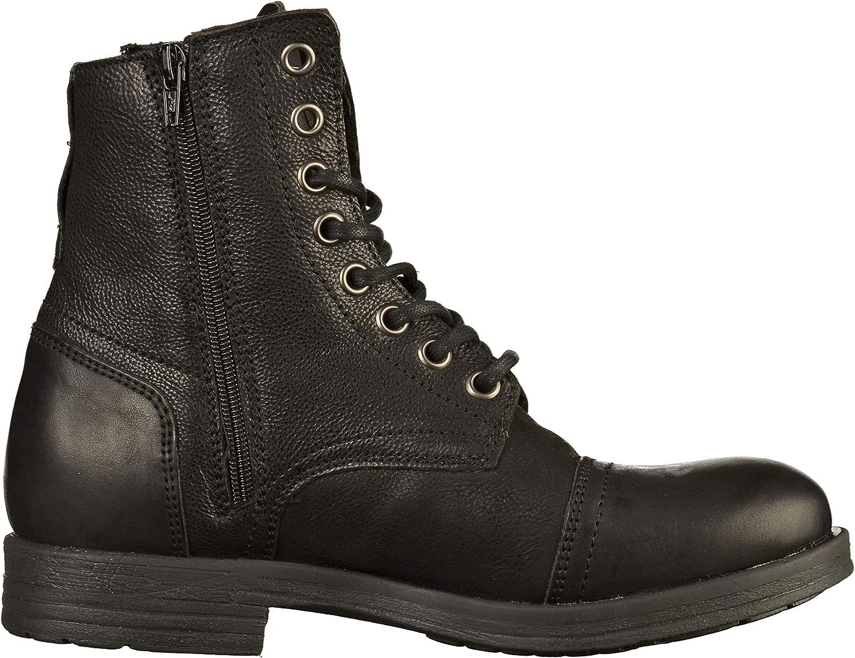 s.Oliver Men's 15239-31 Combat Boots Black Black 1