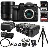 Panasonic Lumix DC-GH5 Mirrorless Camera Filmmaking Kit w/H-ES12060 Optical I.S, 12-60mm Professional Bundle
