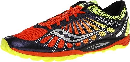 SAUCONY Kinvara TR 2 Zapatilla de Trail Running Caballero, Naranja/Azul Marino, 40: Amazon.es: Zapatos y complementos
