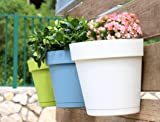 TABOR TOOLS Plastic Wall Planter Pot for Vertical