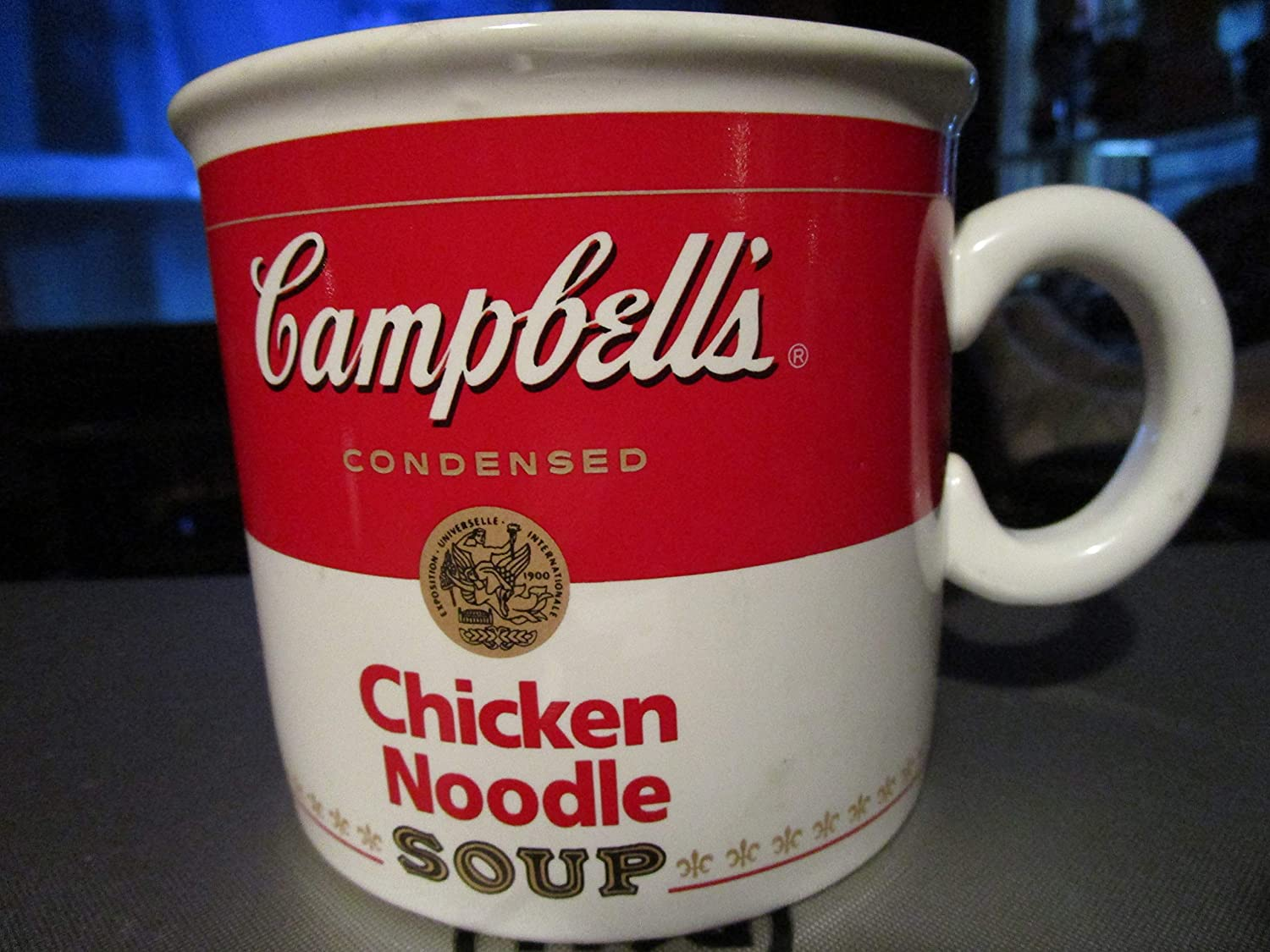 Campbell soup microwaveable mug great for all kinds of soup.