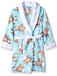 Disney Girls  Frozen Elsa Luxe Plush Robe b57ea9e6c