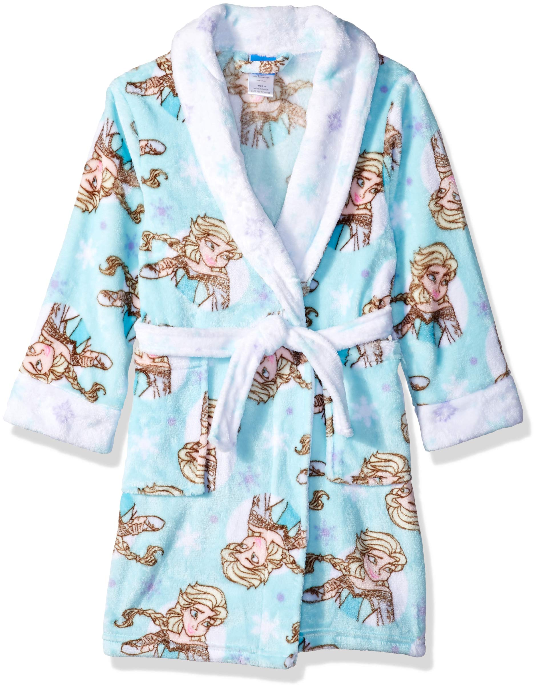 Disney Girls' Frozen Elsa Luxe Plush Robe