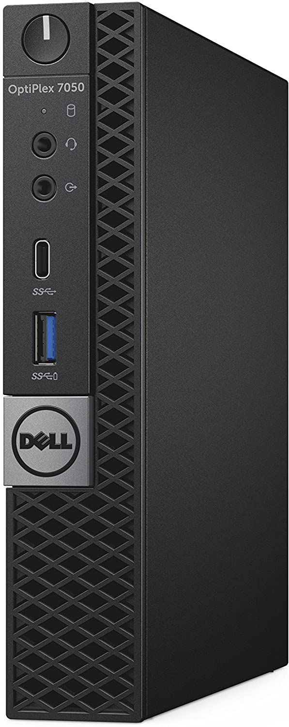 Dell OptiPlex 7050 Micro Form Factor Desktop Computer, Intel Core i5-7500T, 8GB DDR4, 500GB Hard Drive, Windows 10 Pro (JXKHY)