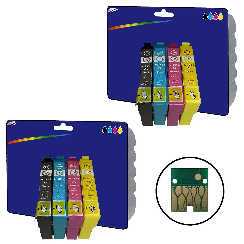 2 juegos de cartuchos de tinta NO OEM Compatible para Epson ...
