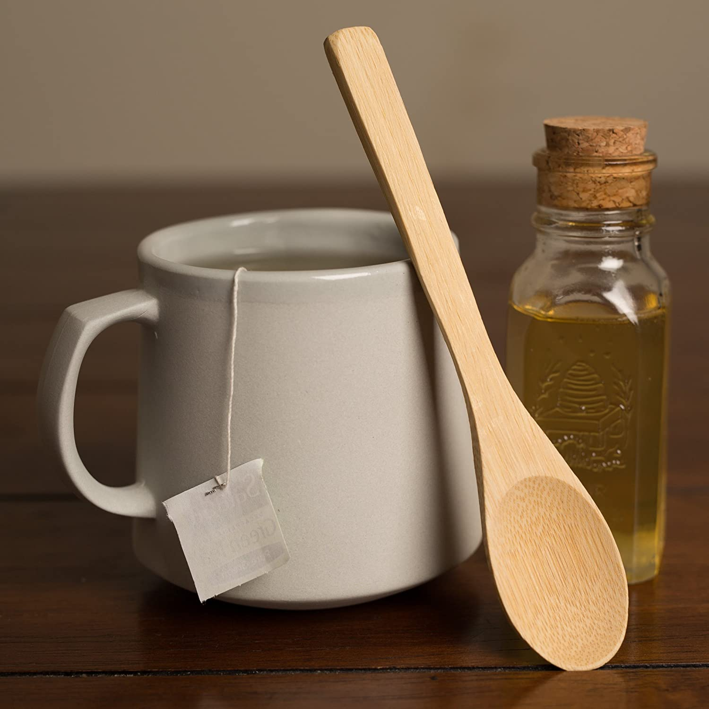 Set of 3 Bamboo Mini Spoon