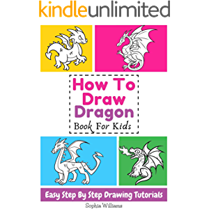 How To Draw Dragon Book For Kids Easy Step-By-Step Drawing Tutorials