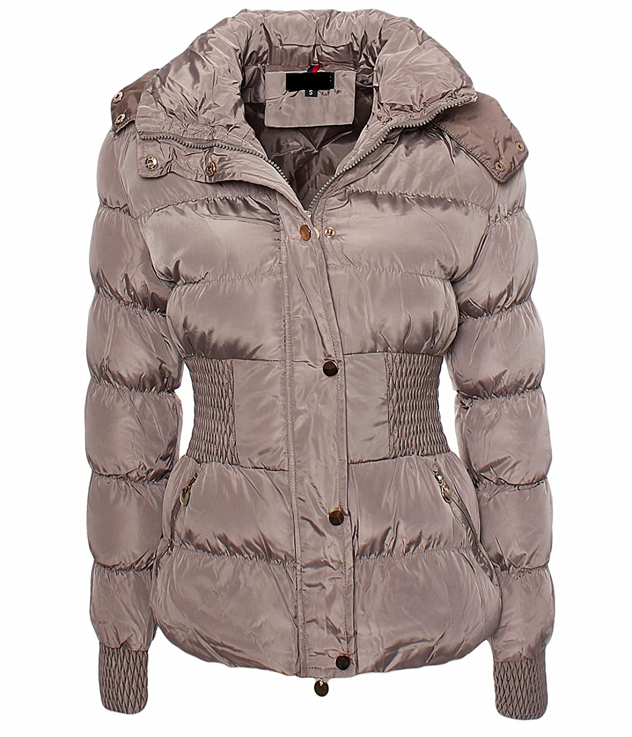 LC1922 Damen Daunen Jacke Steppjacke Parka Mantel Winterjacke Warm Fell Kapuze Outdoor