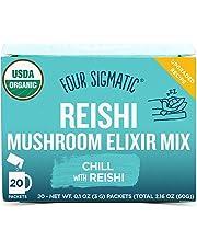 FOUR SIGMATIC Reishi Mushroom Elixir Mix, 20 x 3g