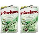 Plackers Micro Floss Picks - Mint - 90 ct - 2 pk