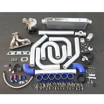 Toyota 4 AFE motor de alto rendimiento 10 unidades T25 Turbo Upgrade Kit de instalación