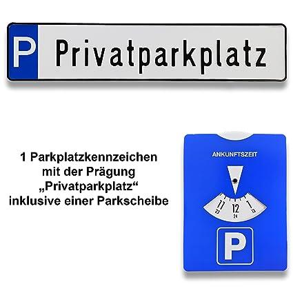 1 mezcla de aparcamiento de matrículas | Cartel con el ...