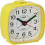 Orpat Beep Alarm Clock (Yellow, Small, 7.18 cm x 3.3 cm x 6.8 cm, TBB-137)