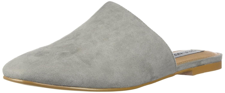 Grey Steve Madden Womens Slider Clogs & Mules