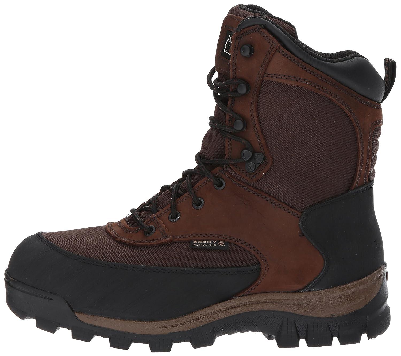 Rocky Men's Fq0004753 Mid Calf Boot B008BVCHVK 9 W US|Dark Brown