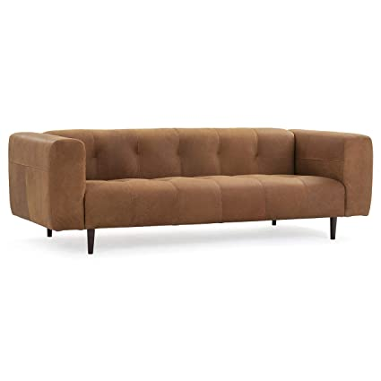 Swell Amazon Com Poly Bark Lr 486 Dt Brant Leather Sofa Derby Theyellowbook Wood Chair Design Ideas Theyellowbookinfo