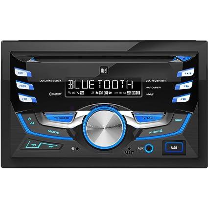 amazon com dual dxdm280bt double din am fm tuner with cd player rh amazon com