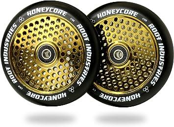 Amazon.com: Root Industries HoneyCore ruedas 120 mm &ndash ...