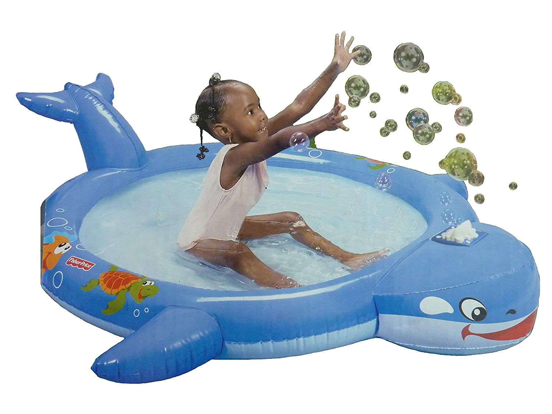 Fisher Price piscina hinchable a burbujas Modele ballena 3 + 142 x ...
